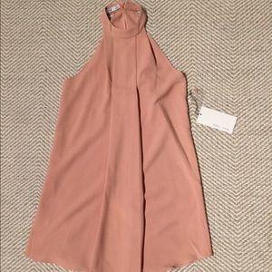 Blush pink dress size XS